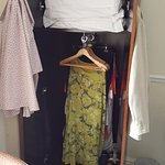 Small wardrobe.