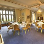 Private dining in drawing room