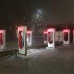 Tesla - Occhiobello Supercharger