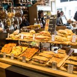 Our selection of panini and focaccia