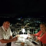 A la Carte restaurant top terrace night view
