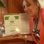 TripAdvisor Certificate of Excellence in 2015