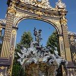Détail de la place Stanislas à Nancy
