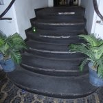 se tivesse reparado na sujidade das escadas nunca teria entrado aqui