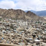 From level 8 of the Leh Palace