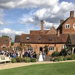 The stunning setting for an outdoor wedding at Wethele Manor