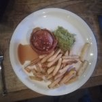 Pie of the day and mushy peas