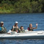 THERE IS NO BETTER WAY TO SPEND TIME WITH FRIENDS AND FAMILY, THAN CANOEING ON THE ZAMBEZI RIVER
