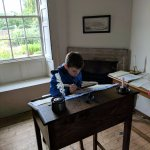 writing with a quill