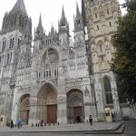 Rouen Cathedral ~ frontage.