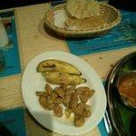 Last year's thali
