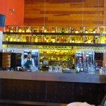 Bar situé dans le restaurant arrière