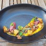 Ricotta and truffle gnocchi