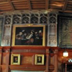 Panoramic View of end of great Hall