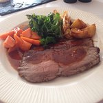 Gluten and dairy free delicious Sunday roast