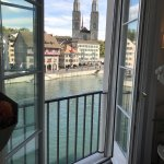 The best view in Zurich