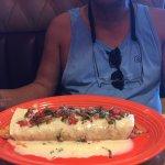 husband's fajita burrito