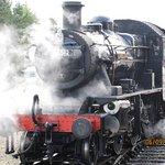 The railway engine