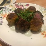 Lamb and croquette