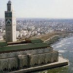 Mosque Hassan 2, one of the best attraction in Casablanca