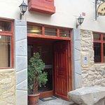 Entrance to La Casa del Abuelo Hotel