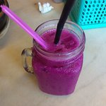 Dragon fruit drink at Yi Poh Restaurant is very good
