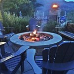 Topnotch has several firepits (you can even make s'mores)