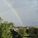 Rainbow from the window