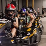 Experience the thrill of European go kart racing at Amp Up Action Park