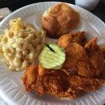 Hattie B's hot chicken at Bishop's