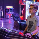 Test your skills and compete with friends in dozens of virtual and interactive games at Amp Up.