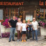 Restaurant La Ferme, Saas-Fee. August 2017.