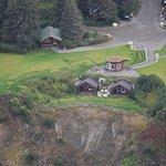 Kenai Peninsula Suites from the air