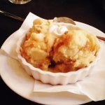 bread pudding, Villa Tronco, Columbia, SC, September 2017