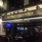 The Penny Black Victorian London Pub