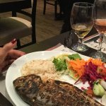 Chargrilled sea bream