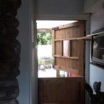Stables doors leading to the secret little garden