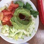 guac salad. Very good.