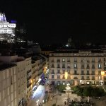 View from Room/ Rooftop of Plaza