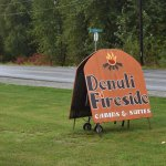 Sign for Denali Firside