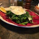 Bresaola rucola e parmigiana