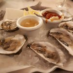 Oyster were good, needs fresh horesradish