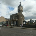 Pizza Express with Clock Tower
