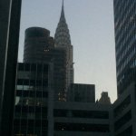 Great view of the Chrysler Building from room 1504!