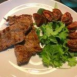 Steak with salad?
