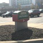 Marked entrance