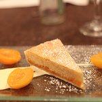 Nice apricot tart