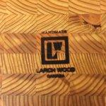 Larch Wood, handmade in Cape Breton, NS, Canada