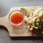 Salt and Pepper Squid with Thai Dipping Chilli sauce