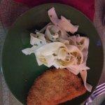 """Buffet """"plat chaud"""" : vaste choix de viandes, poissons et accompagnement"""